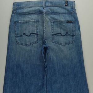 7 For All Mankind Crop Ginger Jeans Women 27 A180J